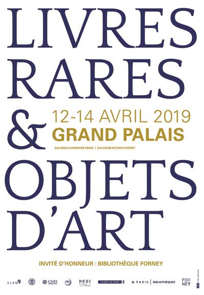 livres rares, objet d'art, paris 2019